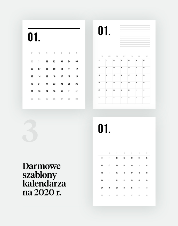 calendarpedia kalendarze do drukowania