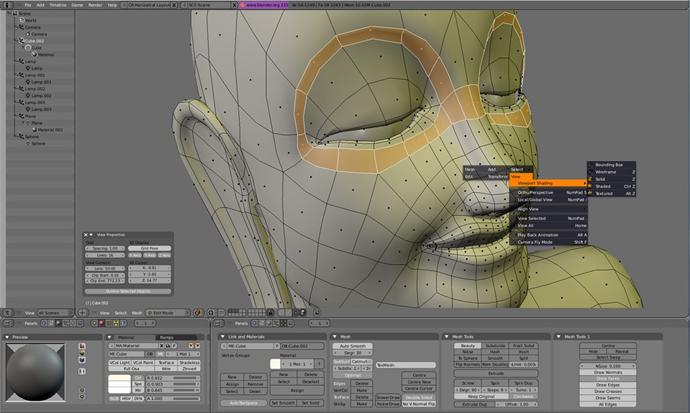 blender darmowe programy graficzne do grafiki 3D