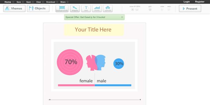 easelly program do tworzenia infografik za darmo