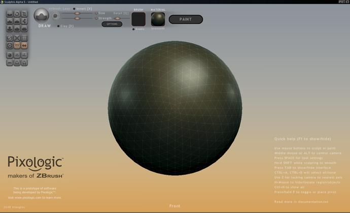 sculptris darmowe programy graficzne  do grafiki 3D