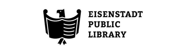 Do publicznej biblioteki dobrze pasują szeryfowe, duże litery.