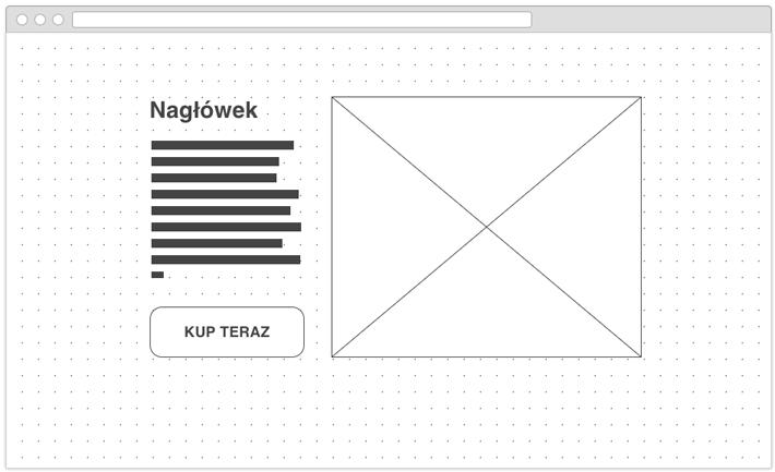 tworzenie strony www makiety