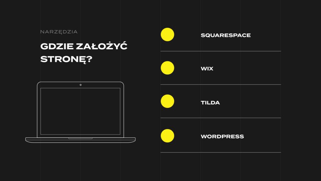 strona internetowa promowanie marki