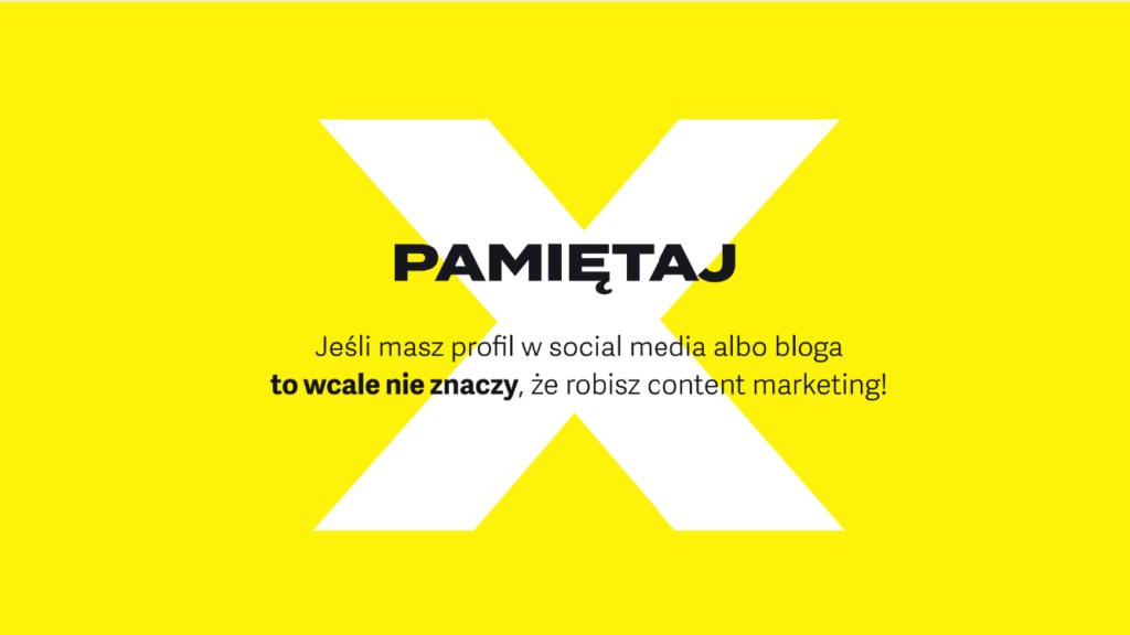 content marketing i social media – czego nie robić